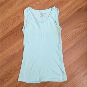 4/$20 Limited Too Girls' Mint Tank Top Size 14